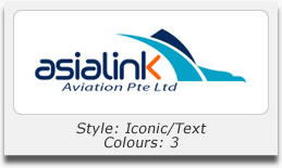 Logo Design Portfolio - Asia Link Aviation