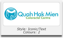 Logo Design Portfolio - Quah Hak Mien Colorectal Centre Pte Ltd