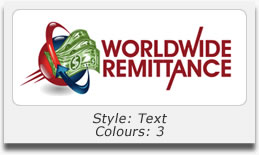 Logo Design Portfolio - Worldwide Remittance
