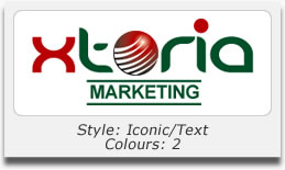 Logo Design Portfolio - Xtoria Marketing